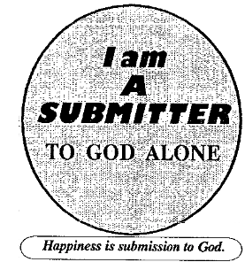 I am a Submitter to GOD